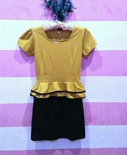 Dress bangkok (scuba tebal)