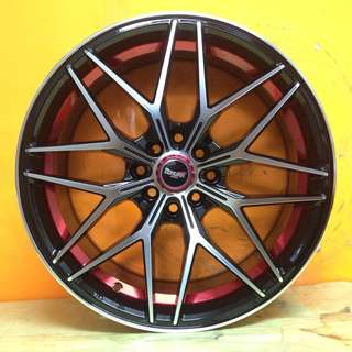 17 inch SPORT RIM TOKURA RACING WHEELS