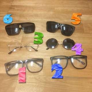 各式眼鏡(詢問/購買私訊編號)