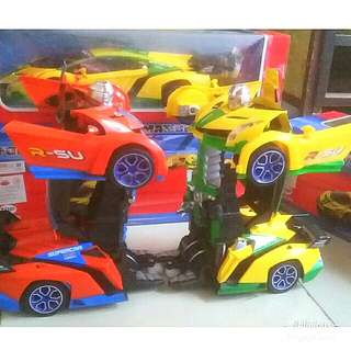 Mobil robot Transformers Lamborghini