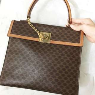 Authentic Celine macadam Handbag Not Hermes Dior Gucci ferragamo
