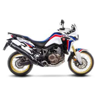 LEOVINCE NERO STAINLESS STEEL | SLIP-ON HONDA - CRF 1000 L AFRICA TWIN