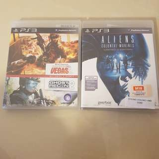 PS3 Games 2 for 20