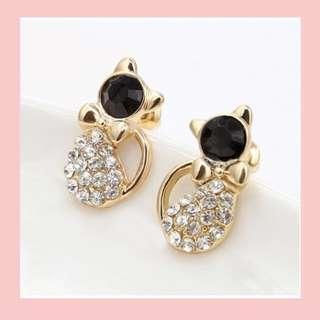 Kitty Ear stud Earrings