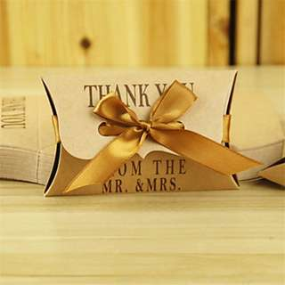 EB18005 PILLOW KRAFT PAPER BOX