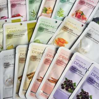 20 Assorted Facial masks