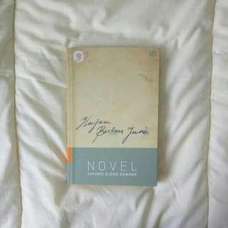 Hujan Bulan Juni Novel - Sapardi Dkoko Damono