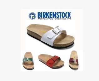 Birkenstock香港正品代購德國勃肯鞋Madrid單扣女鞋真皮博肯拖鞋