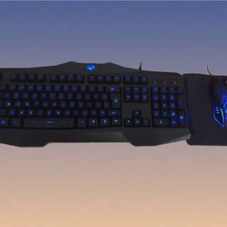 ! Gaming Keyboard and Mouse ![COMBO] IN-STOCK ITEM