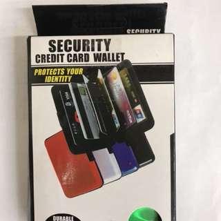 全新信用卡卡夾 CREDIT CARD WALLET
