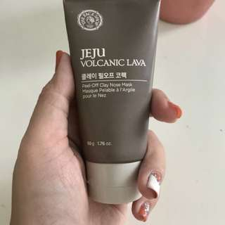 The Face Shop Jeju Volcanica Lava Nose Peel-off