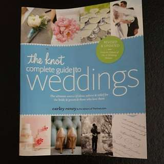 The knot complete guide to wedding s