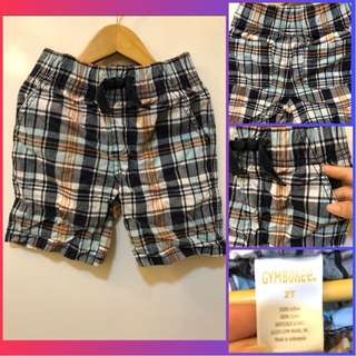 Gymboree Kids Checkered Shorts (for 2y/o)