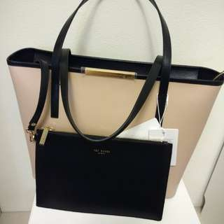 Brand new Ted Baker tote bag (leather)