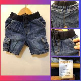 Gymboree Kids Cargo Denim Shorts (for 2y/o)