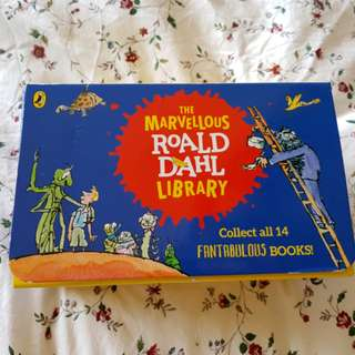 The Marvellous Roald Dahl Library