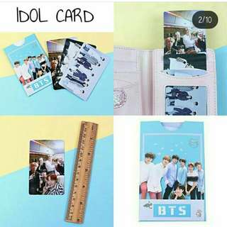 KPOP IDOL CARD 3 PIECES ONE SET / KPOP STICKER ❤ ✨