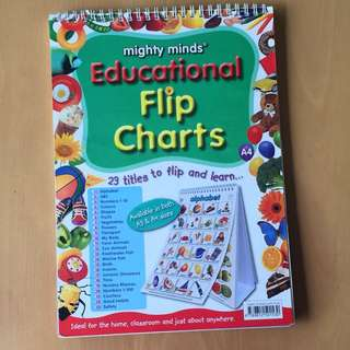 Children's Learning Flip Charts