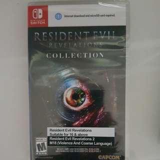 Nintendo Switch resident evil !