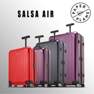 【PAPERPLANE】l RIMOWA Salsa Air Series 820.xx.004 行李箱 旅遊 旅行