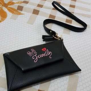 New ! Tas kecil + Dompet HP ♡ Warna Hitam