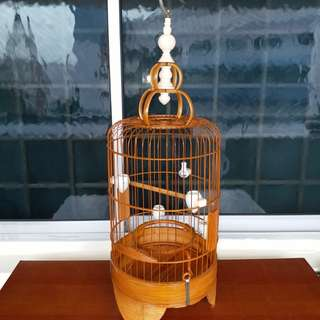 Puteh Cage with fake ivory