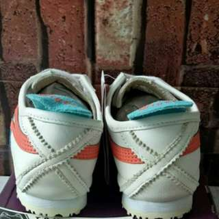 ONITSUKA TIGET MEXICO 66 DULUXE WHITE ORANGE BLUE UNAUTHORIZED AUTHENTIC (UA)  SIZE 36-40 STOCK TERBATAS