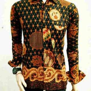 Batik kemeja asli pekalongan