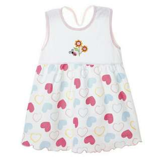 Summer baby girl mini dress