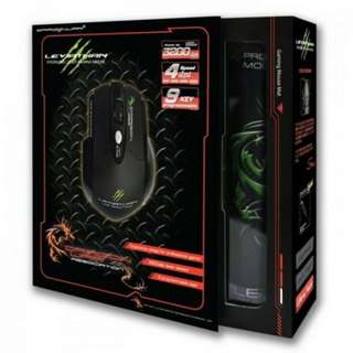 mouse game dragonwar leviathan 3200dpi