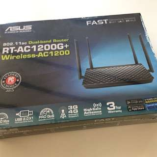 ASUS RT-AC1200G+ (BRAND NEW SEALED)