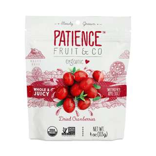 PATIENCE FRUIT & CO 有機小紅莓乾 4oz