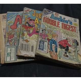 Archie comics (sold as a set)