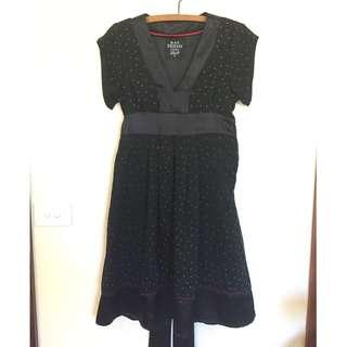 Black Friday Size 12 chiffon and satin dress