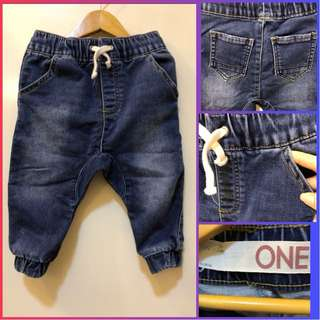 Cotton On Kids Denim Jogger Pants (for 1y/o)