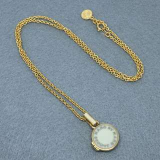 Marc Jacobs Sample Necklace 白金色頸鏈 長54cm