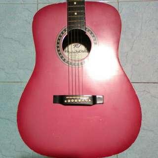 Preloved Guitar (Pink)