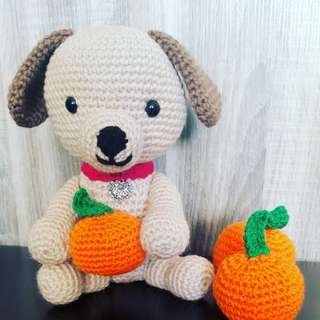 Crochet puppies