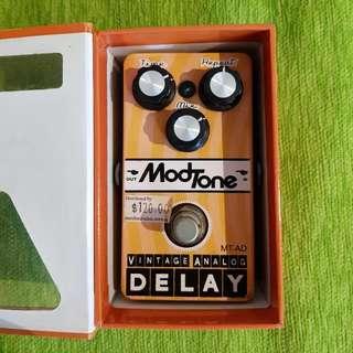 Modtone Vintage Analog Delay Pedal