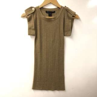 Marc By Marc Jacobs light brown cashmere size XS