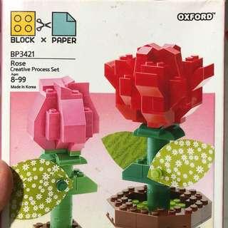 Oxford [Block x Paper] Creative Rose
