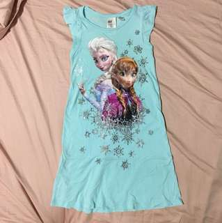 H&M Disney Frozen Nightgown