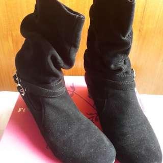 Sepatu boots import dr hongkong