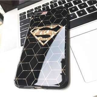 Superman Gold Acrylic Soft iPhone Case