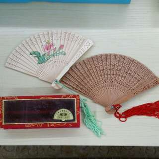 Collectible Handmade Sandalwood Fan
