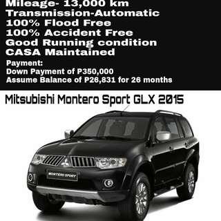 Mitsubishi Montero Sport GLX 2015