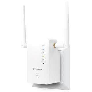 Edimax AC1200 Smart Dual Band Wi-Fi Extender, Detachable Antenna, with Roaming Function (1 Unit) RE11S