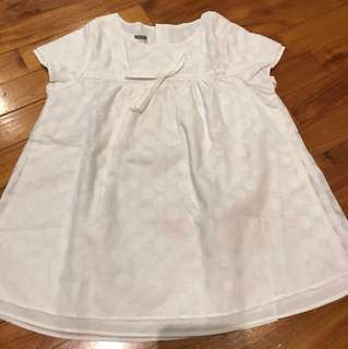 White dress 3-4years old