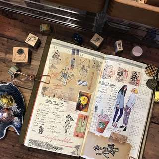 Bullet journal, Travellers notebook IDEAS