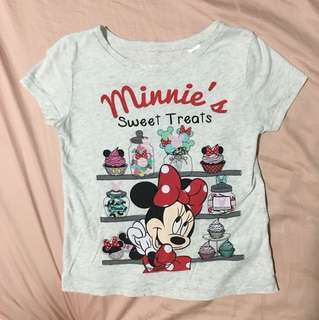 H&M Disney Short Sleeve Top